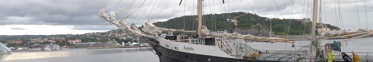 Estelle i Oslofjorden