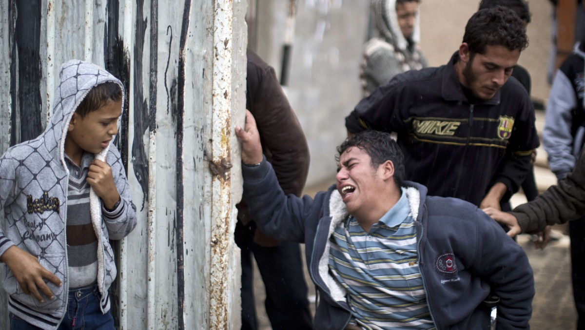 Fuglefanger drept i Gaza